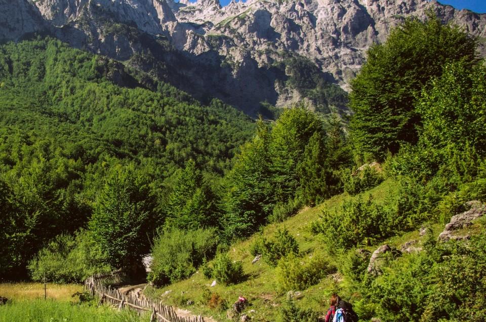 Trekking from Valbonë to Theth