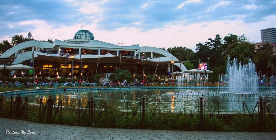 solo female travel blog, floating my boat, Tirana at night, safety in Tirana, top attractions of Tirana