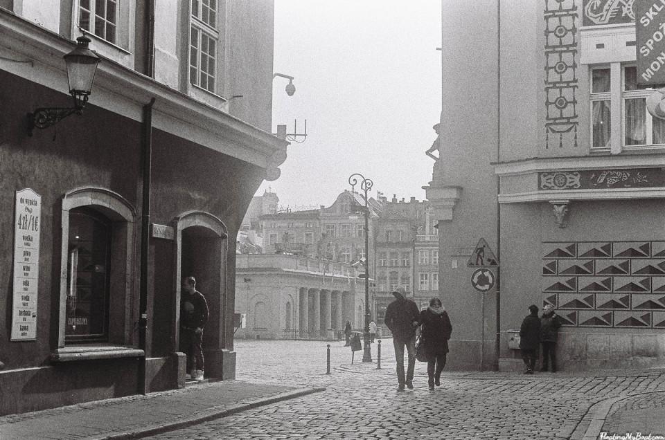Klimatyczny Poznań – zdjęcia analogowe