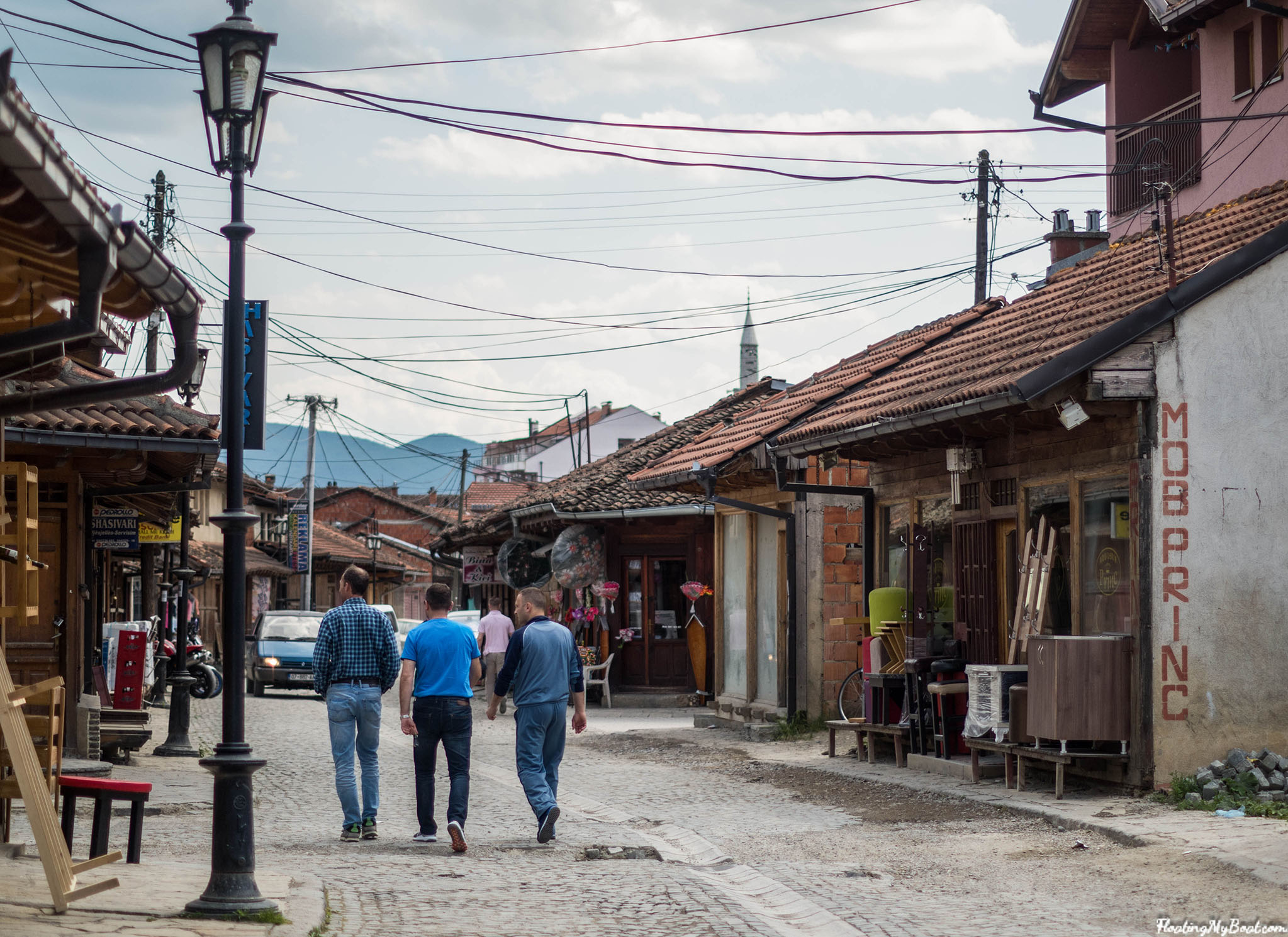 Gjakova old bazaar kosovo