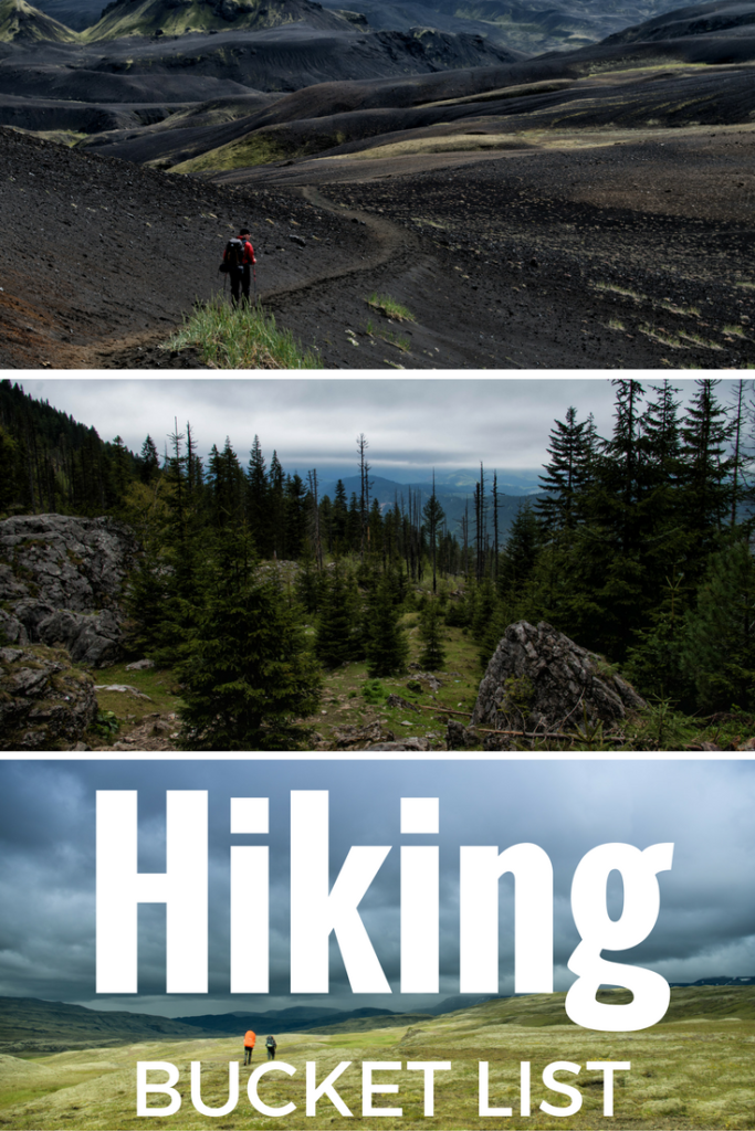 Hiking Bucket list