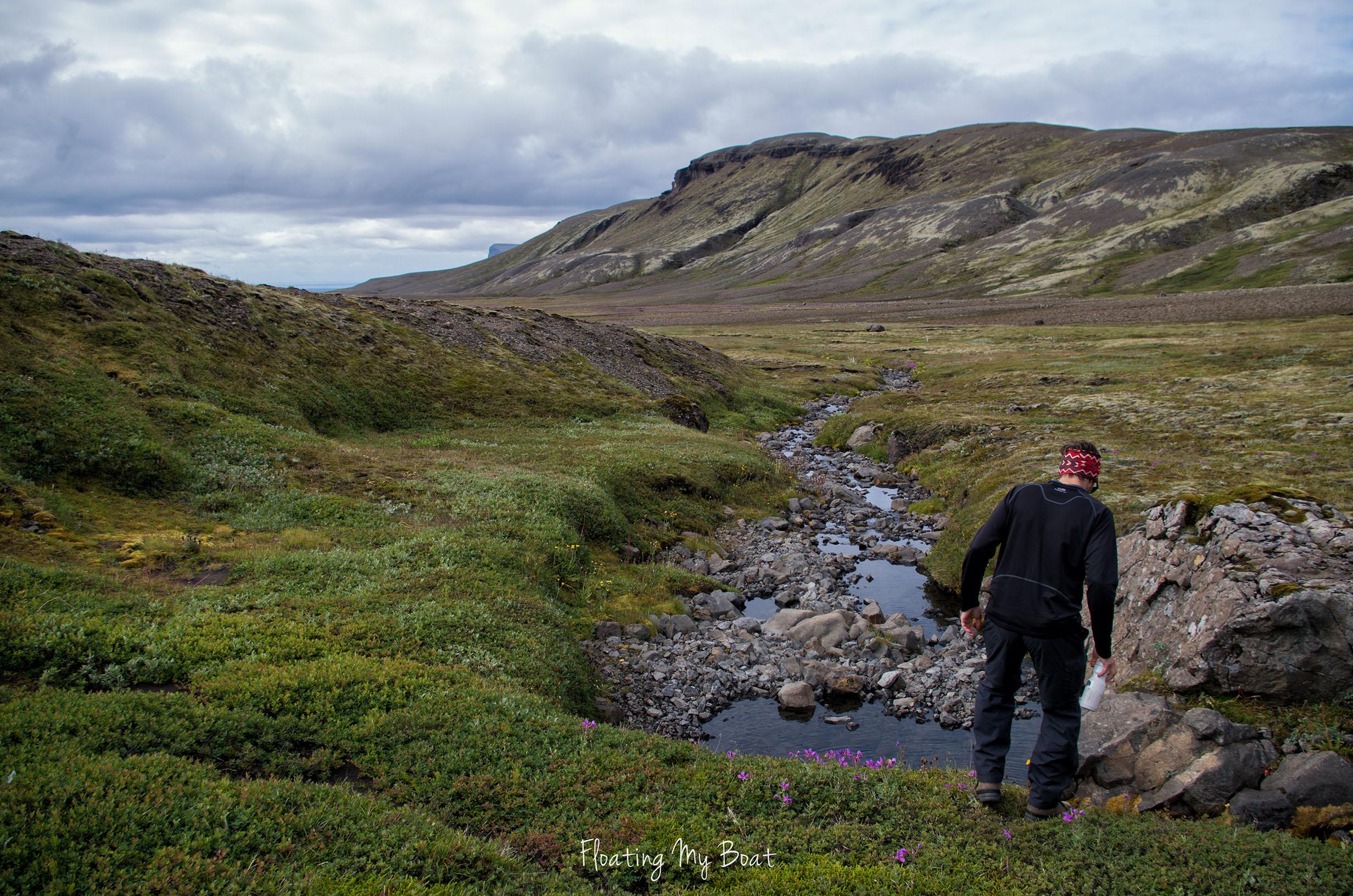 trekking iceland vatnajokull