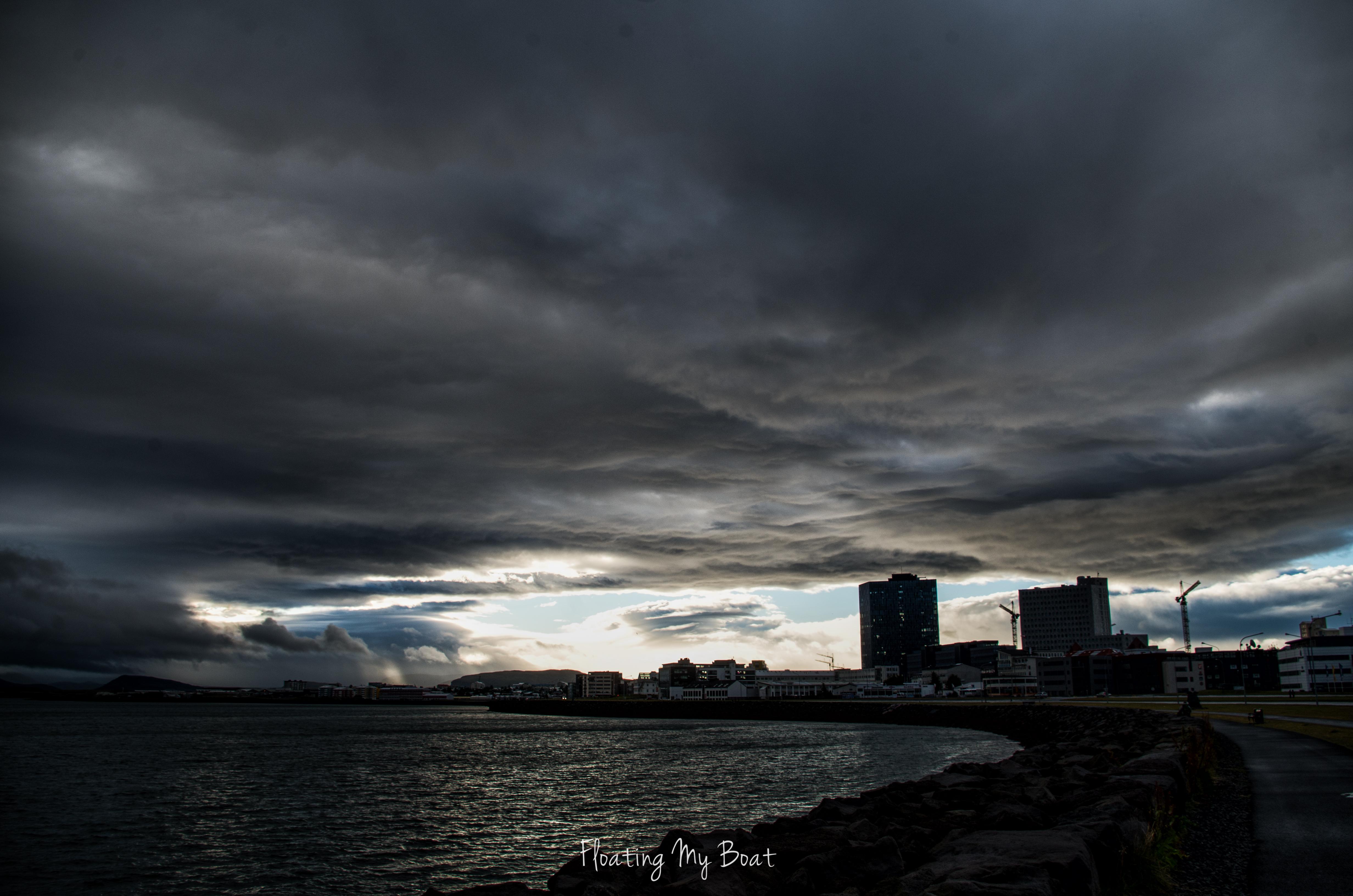 Reykjavik-Iceland-august