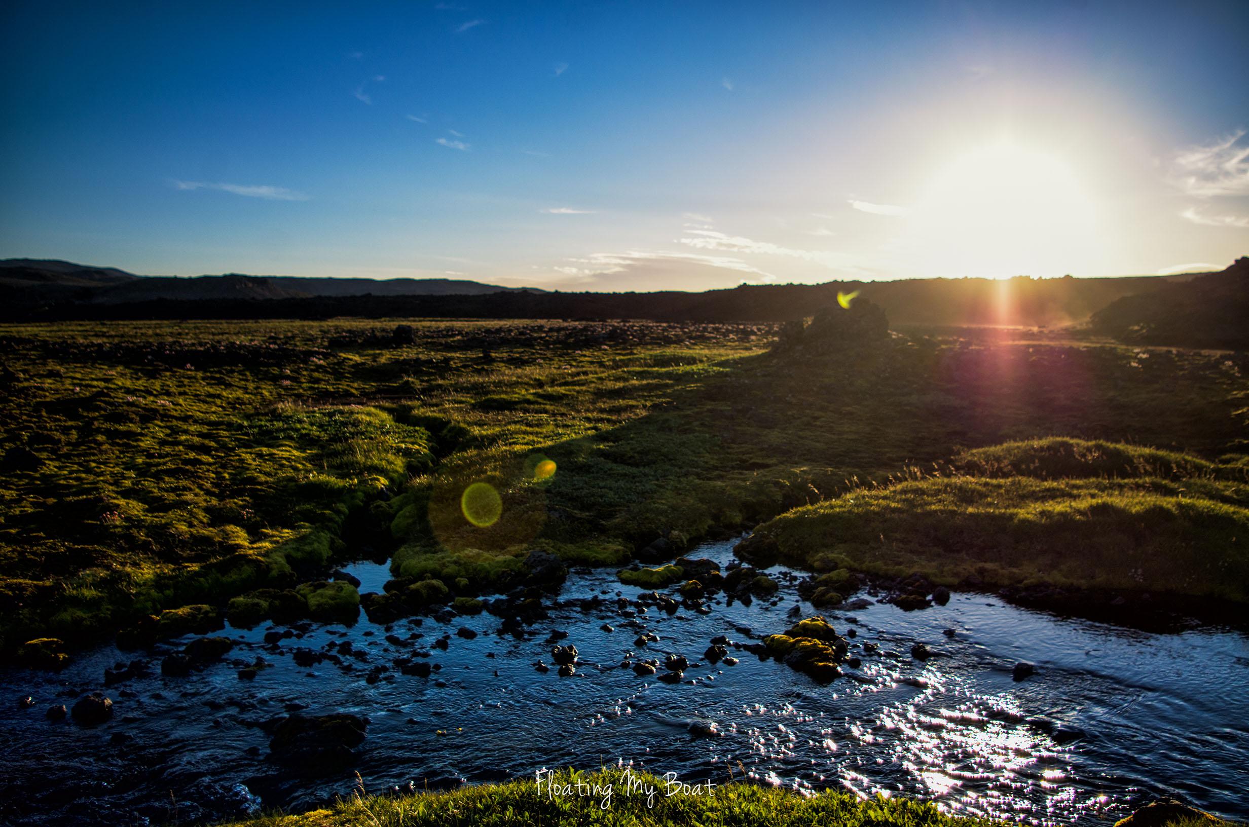 Off-path trekking Iceland