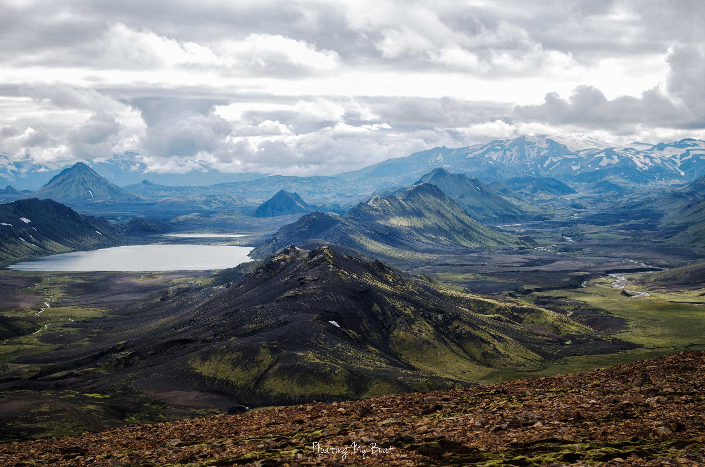 iceland-laugavegur-trek-alftavatn-lake