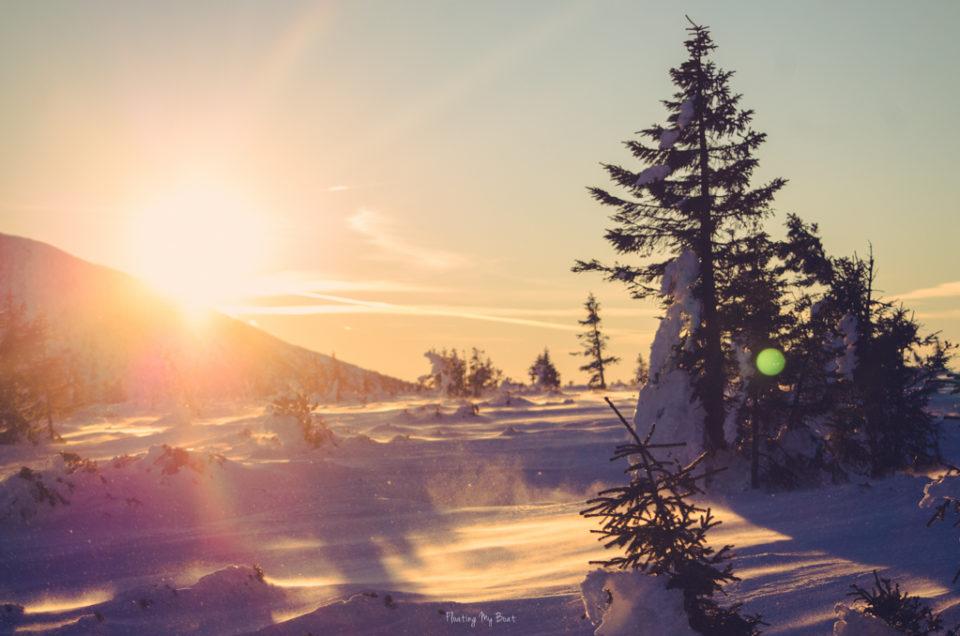Osobliwe przygody trzech blondynek zimą w Karkonoszach