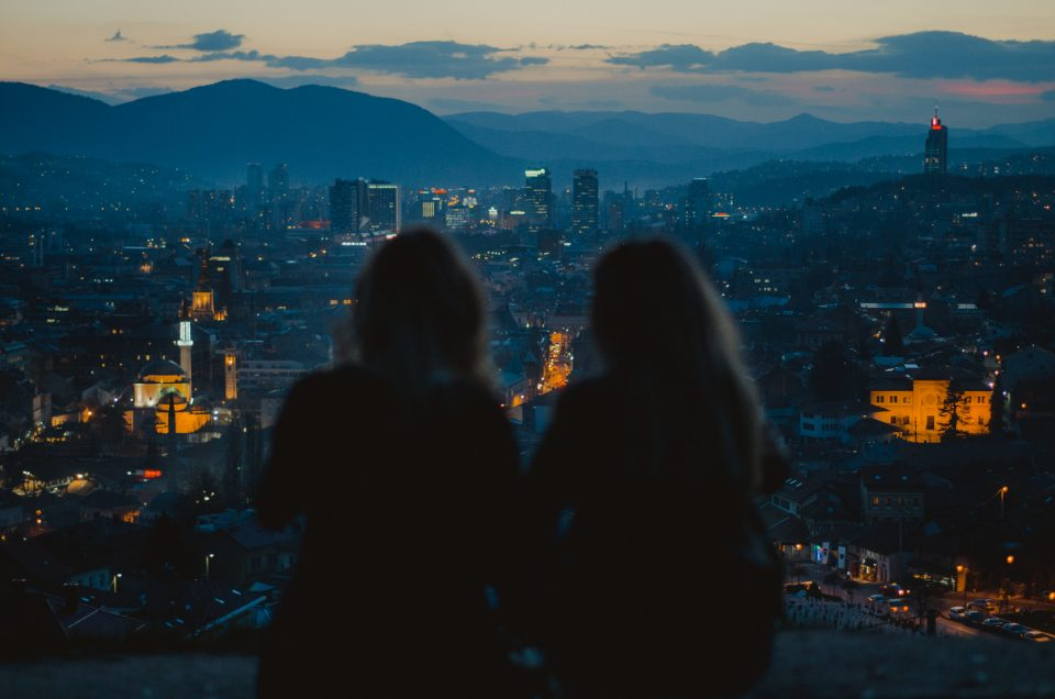 7 best panoramic spots in Sarajevo to watch the sunset