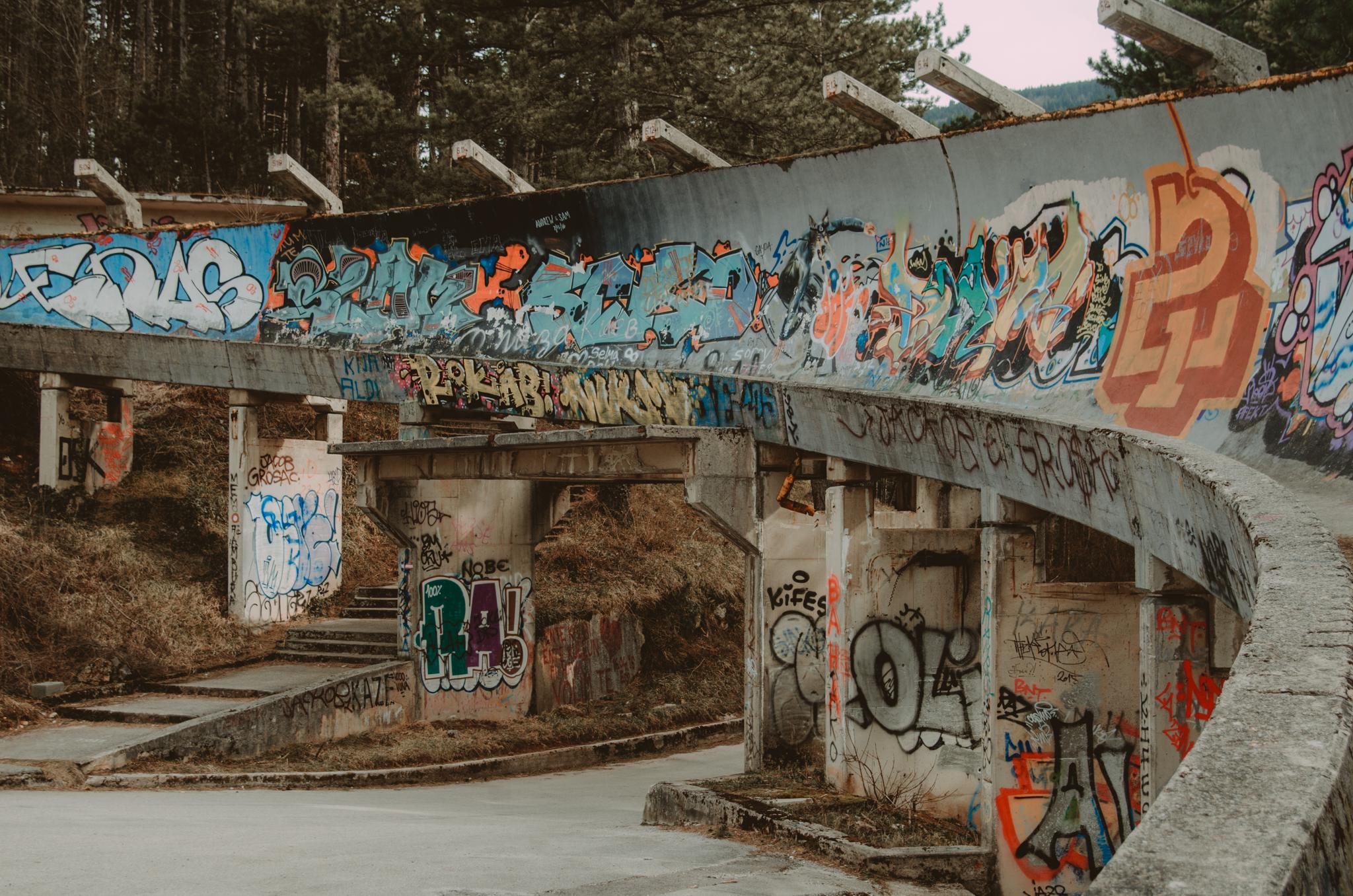 sarajewo-opuszczony-tor-bobslejowy