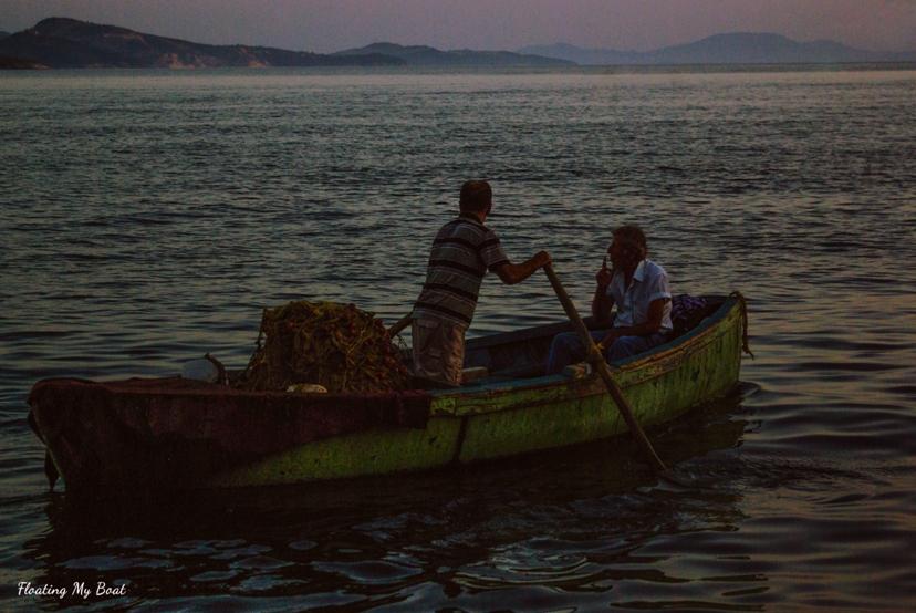 Fishing in Sarandë